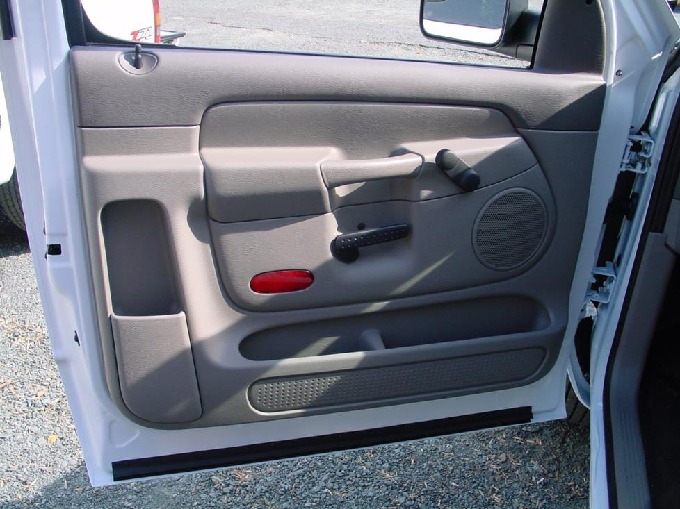 2002 2005 dodge ram 1500 regular cab car audio profile for Front door not centered
