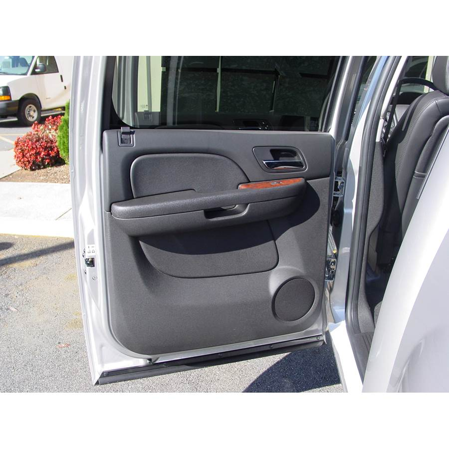 2014 GMC Sierra 2500/3500 Rear door speaker location