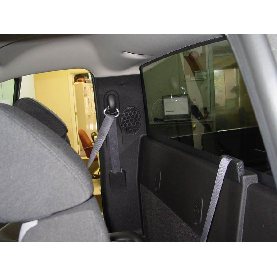 2014 GMC Sierra 2500/3500 Rear side panel speaker location