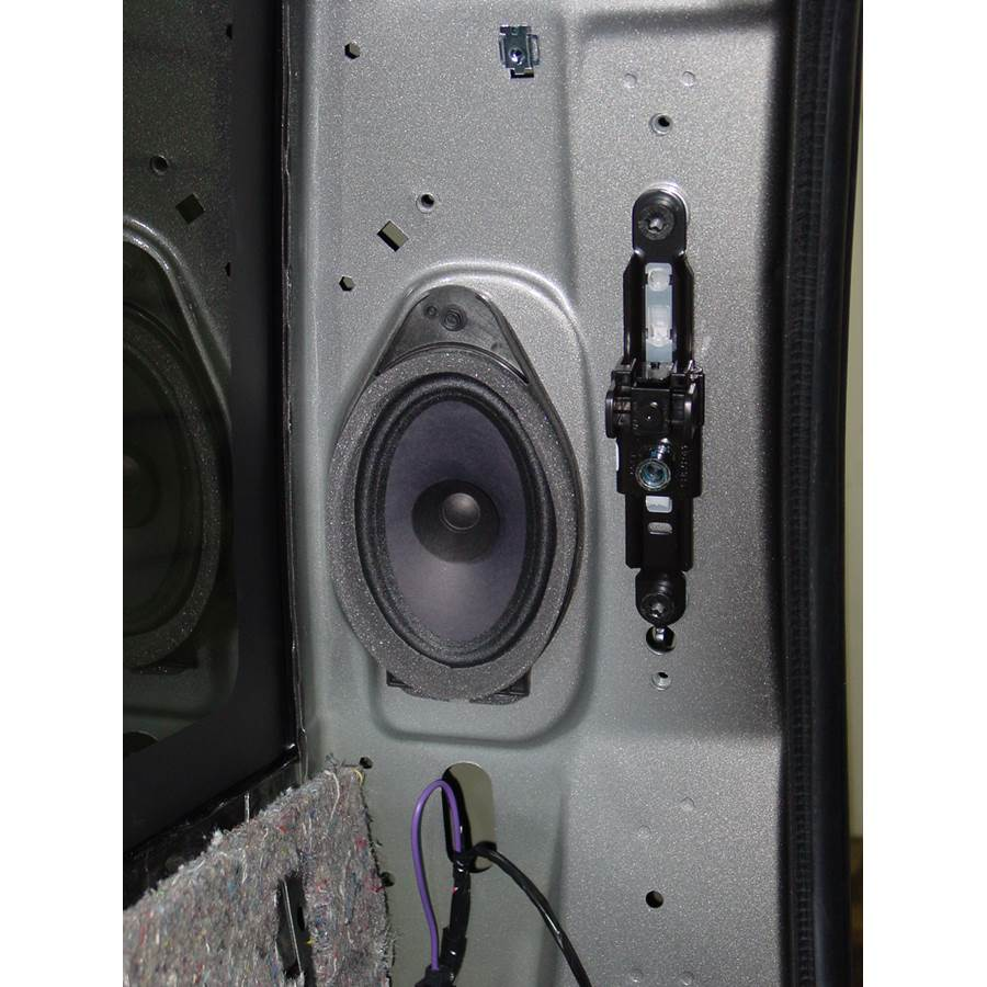 2014 GMC Sierra 2500/3500 Rear side panel speaker