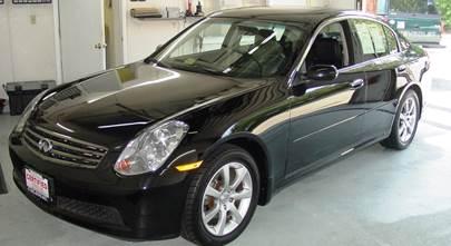 2003-2006 Infiniti G35 sedan