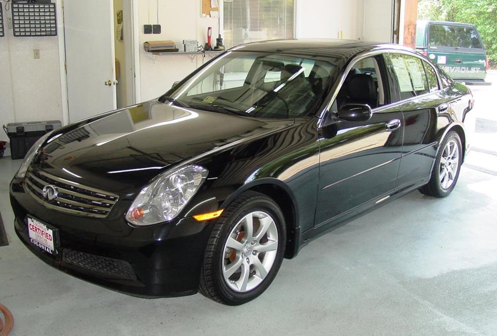 2003 2006 Infiniti G35 Sedan Car Audio Profile