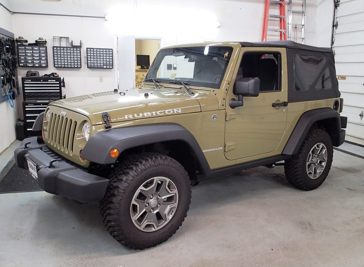 2011-2014 Jeep Wrangler and Wrangler Unlimited Car Audio Profile