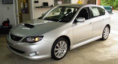 2008-2011 Subaru Impreza wagon