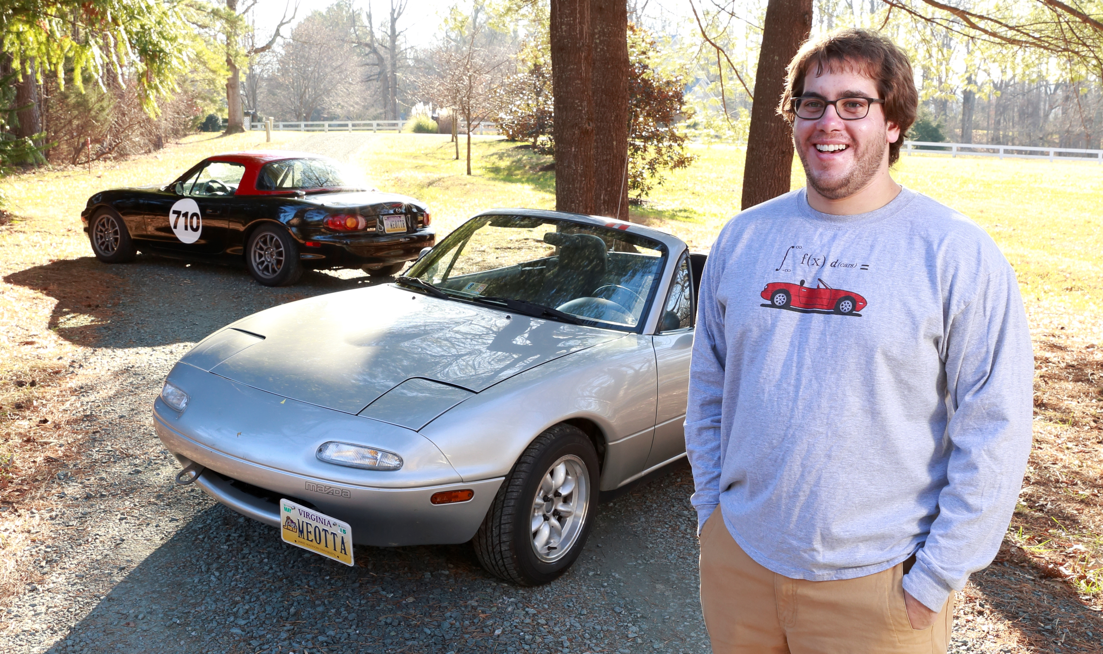 Dan S Mazda Miata Meets The Alpine Ktp 445a Power Pack