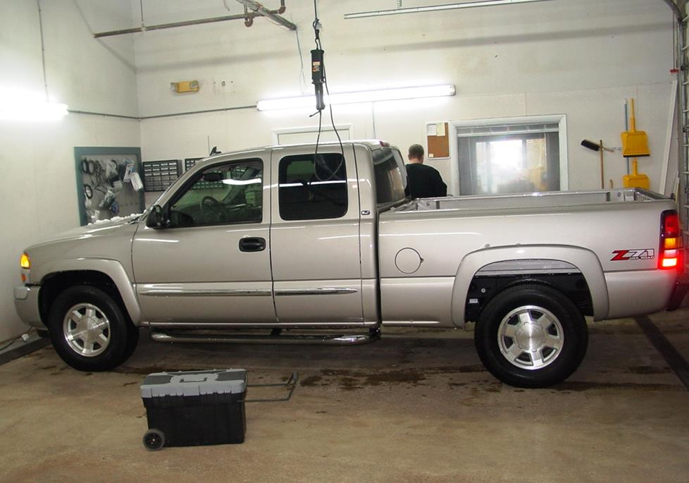 2003-2007 Chevrolet Silverado and GMC Sierra Extended Cab ... on