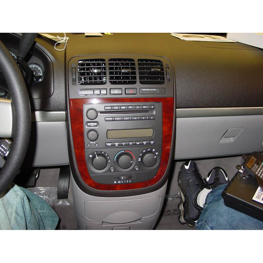 2006 Chevrolet Uplander Factory Radio