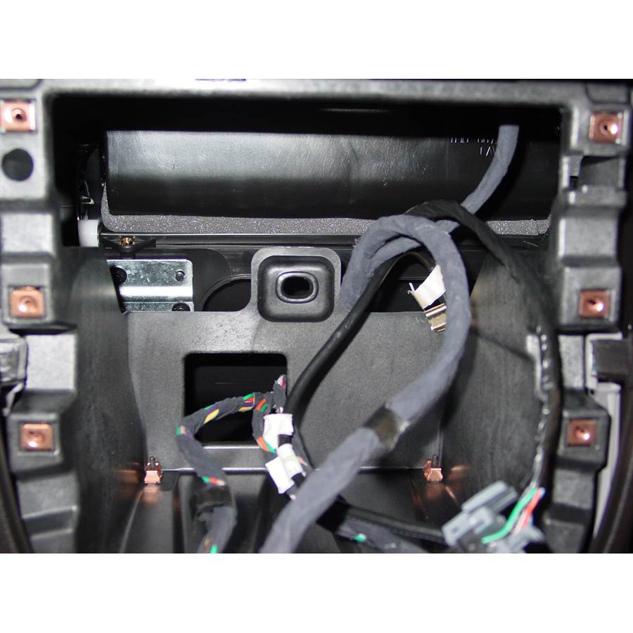 2006 Chevrolet Uplander Factory radio removed