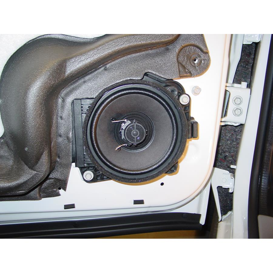 2008 Chevrolet Uplander Front door speaker