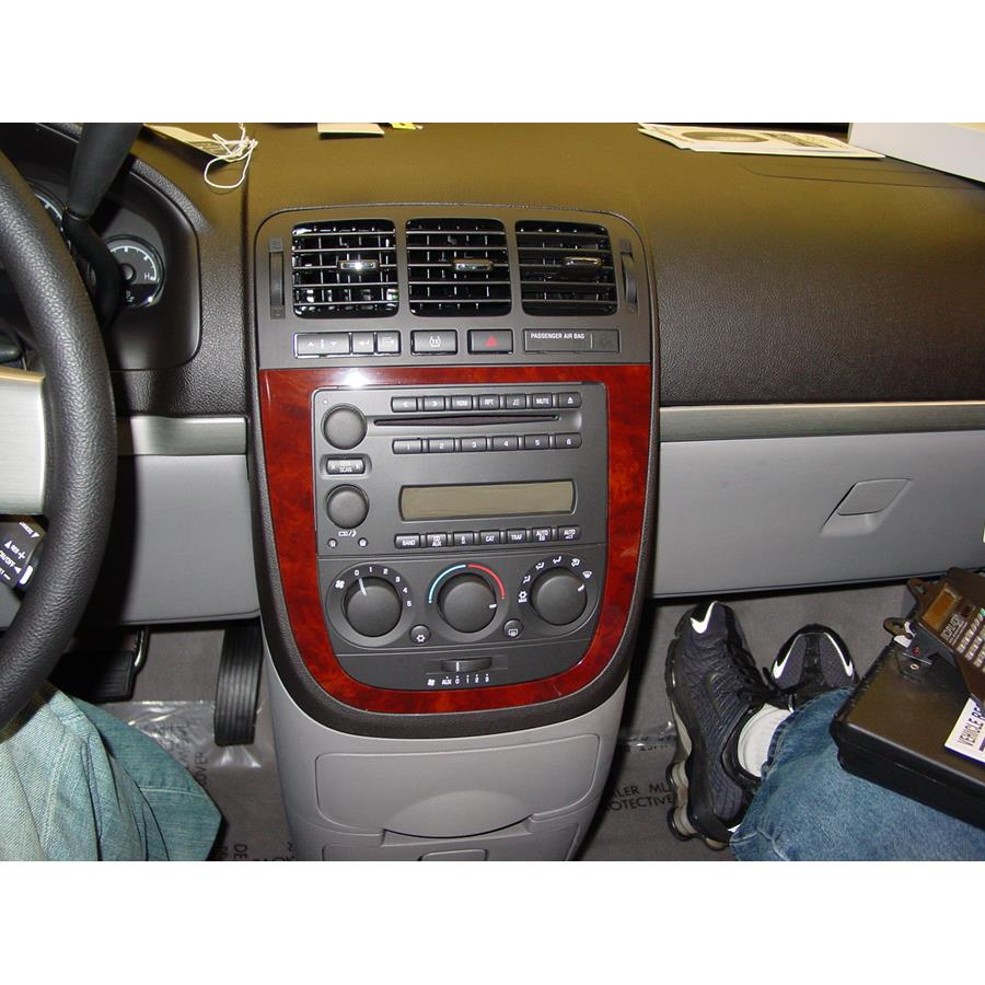 2008 Chevrolet Uplander Factory Radio