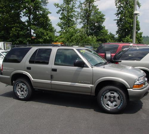 2000 Gmc Jimmy Exterior