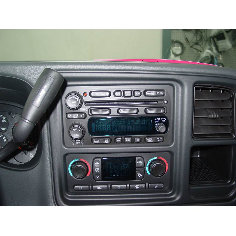2004 GMC Sierra 2500/3500 Factory Radio