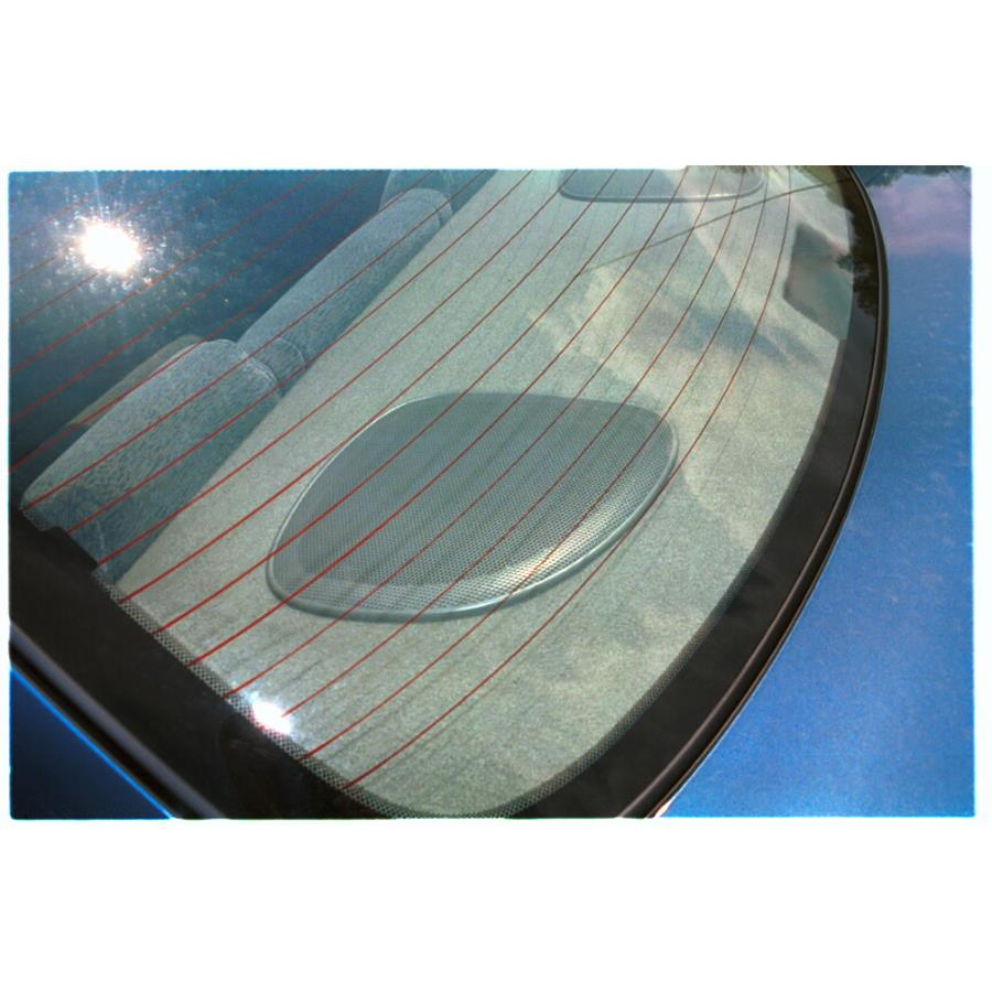 2000 Chevrolet Malibu Rear deck speaker location