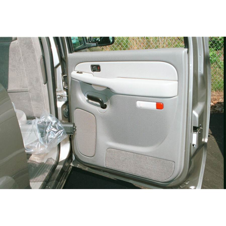 2004 GMC Yukon Rear door speaker location