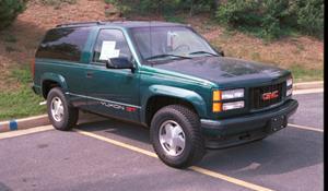 1999 GMC Yukon Exterior