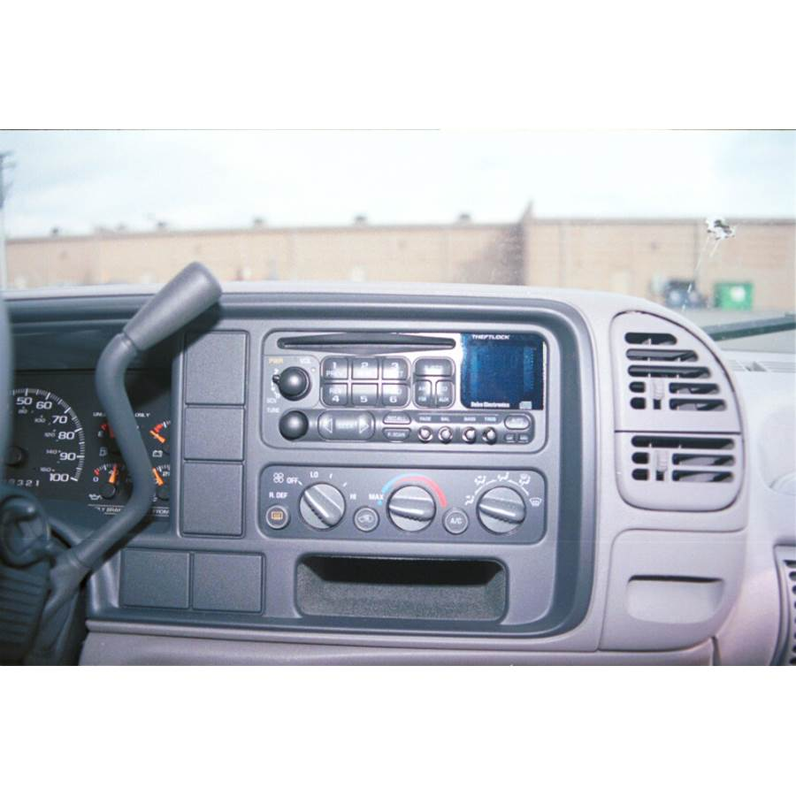 1997 GMC Suburban Other factory radio option