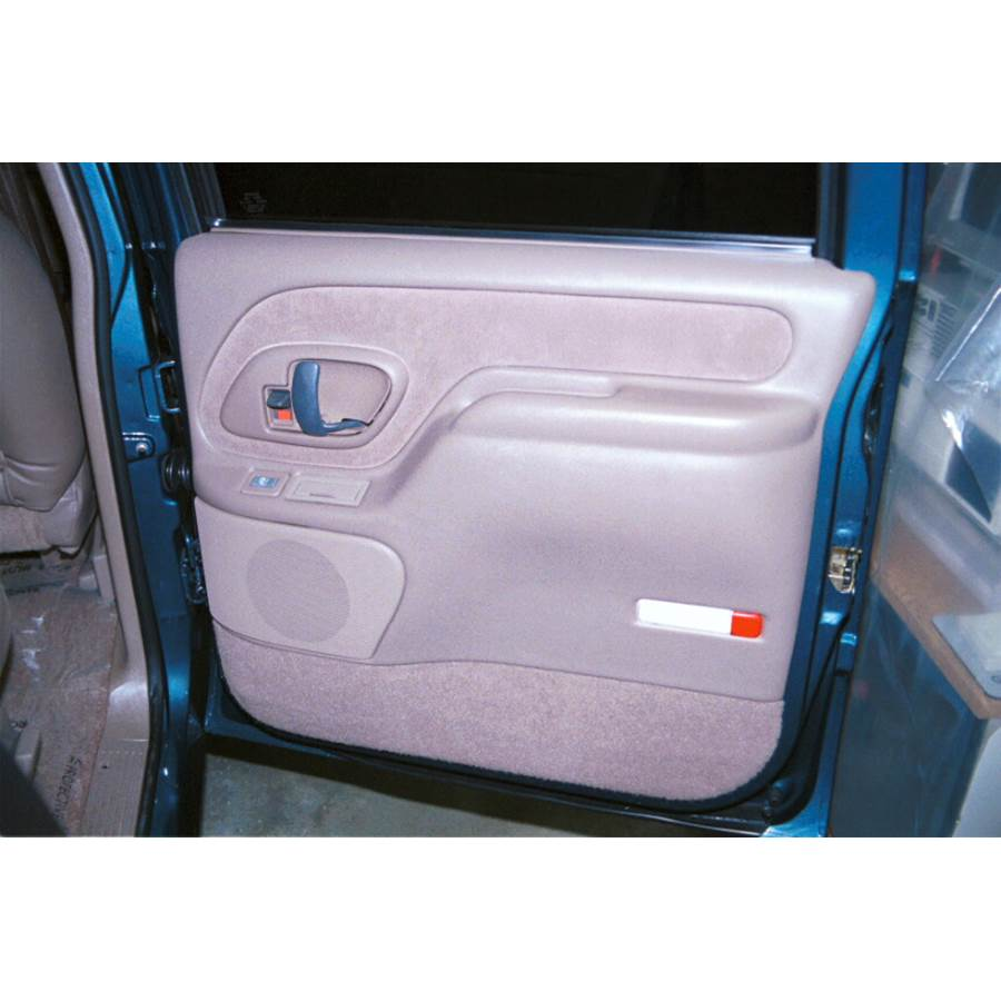 1997 GMC Suburban Rear door speaker location