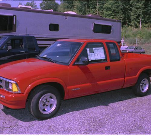 1996 Chevrolet S10 Exterior