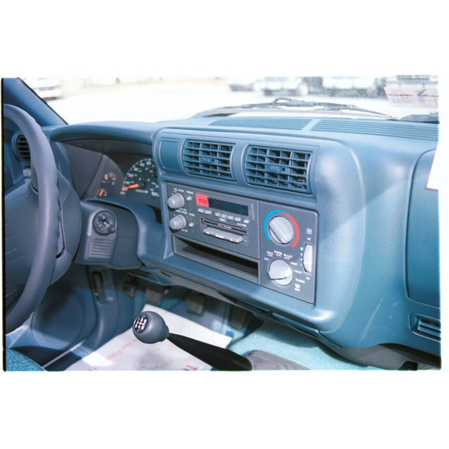 1995 Chevrolet S10 Other factory radio option