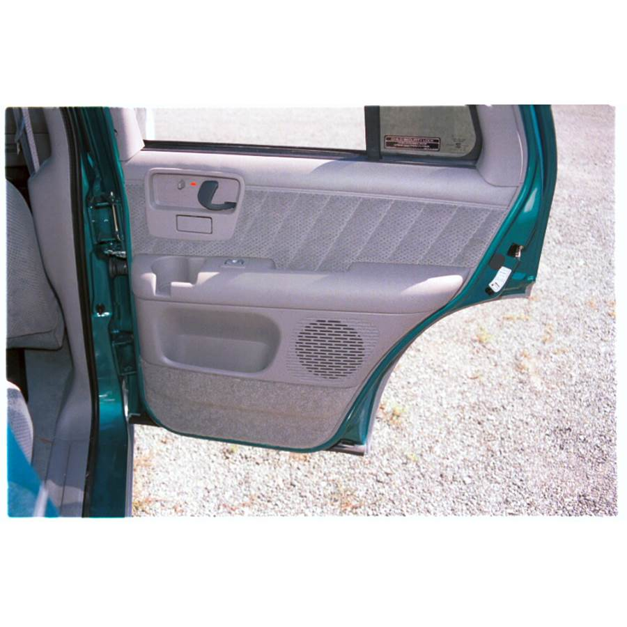 1995 GMC Jimmy Rear door speaker location