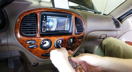 Car stereo installation guide