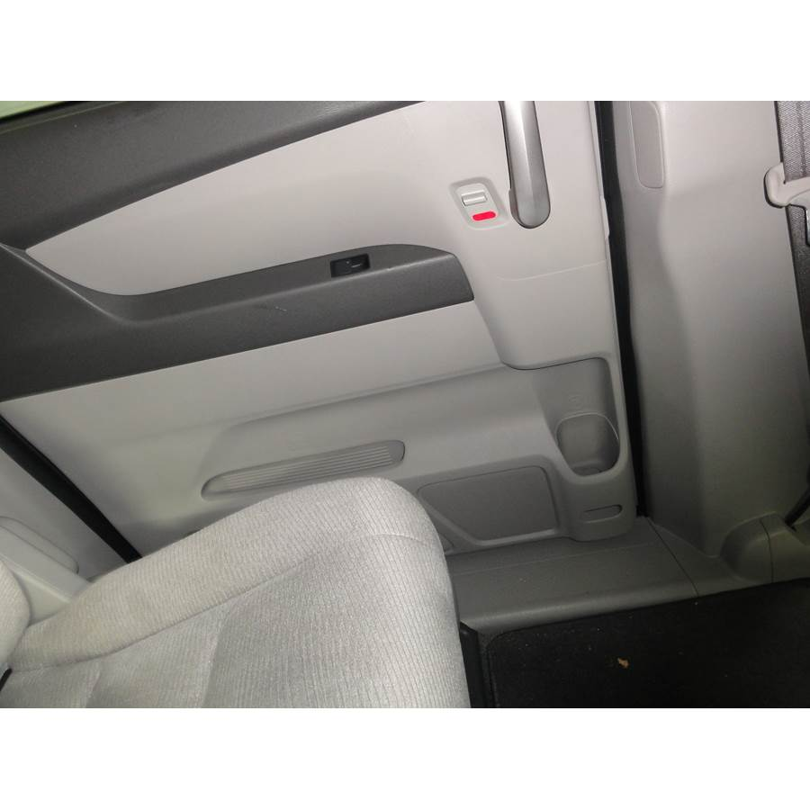 2014 Honda Odyssey Touring Rear door speaker location