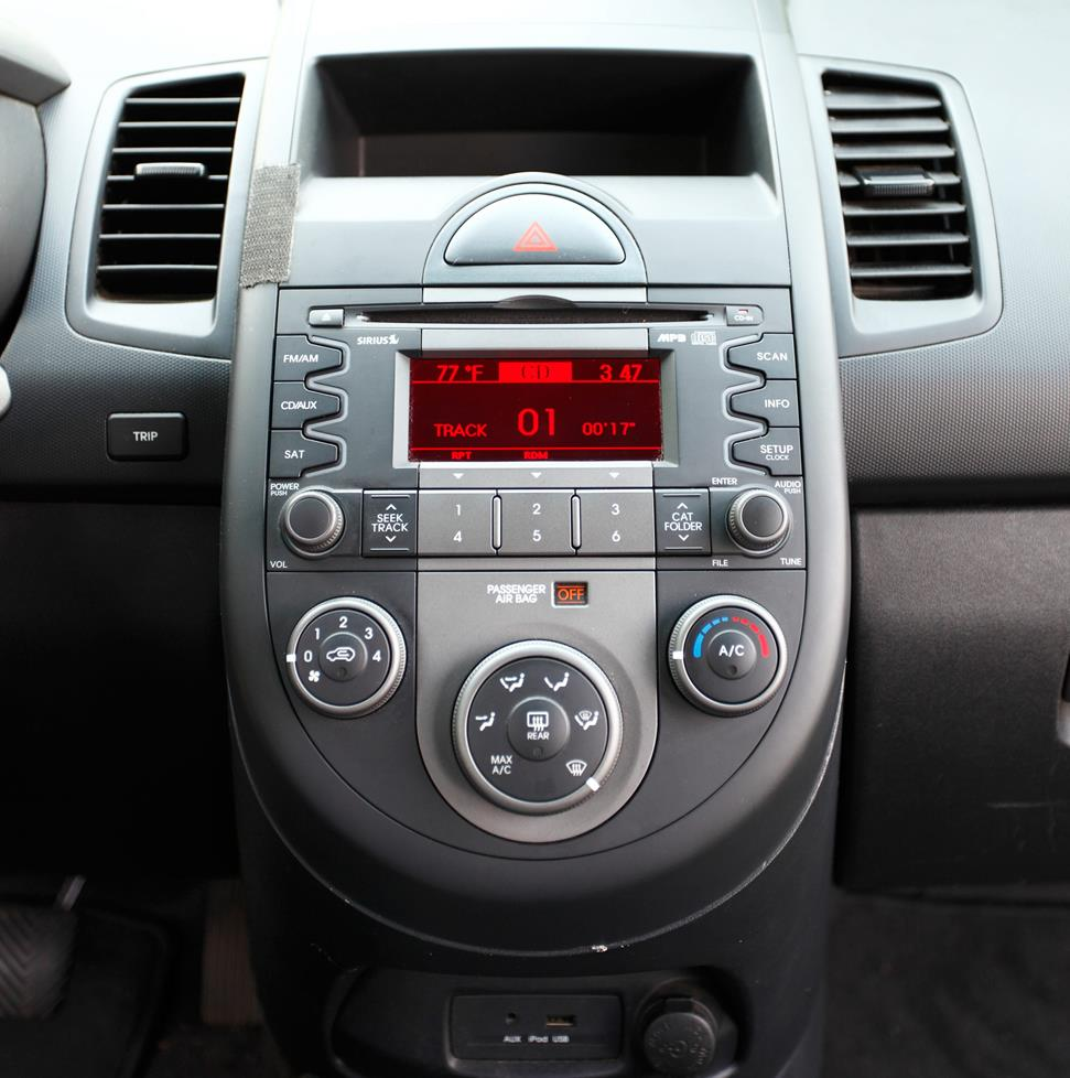 upgrade your car's sound without replacing the factory stereo on Kia Soul Speaker System for kia soul dash sometimes, you just have to leave the factory stereo in place at Kia Soul Stereo Upgrade