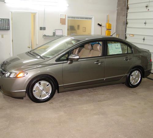 2007 Honda Civic Hybrid Exterior ...
