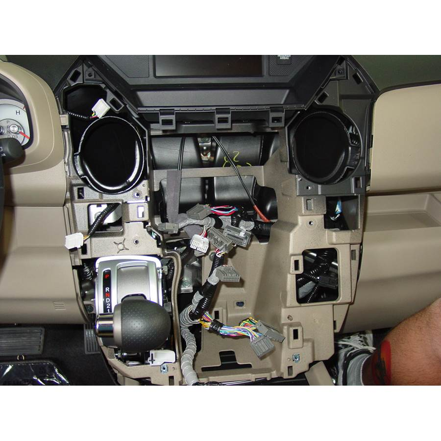 2009 Honda Pilot Factory radio removed