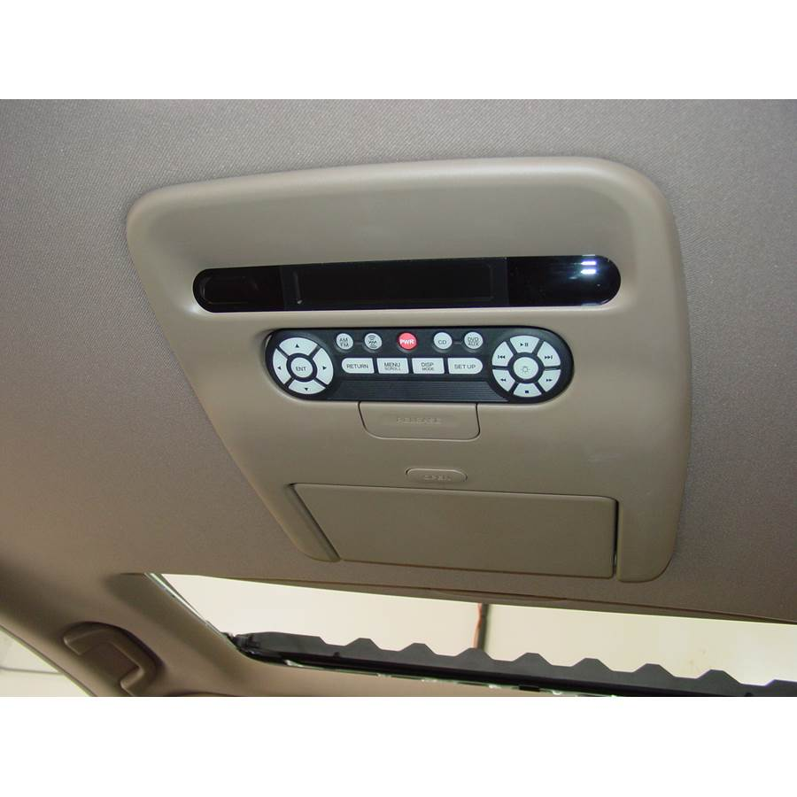 2009 Honda Pilot Rear entertainment system