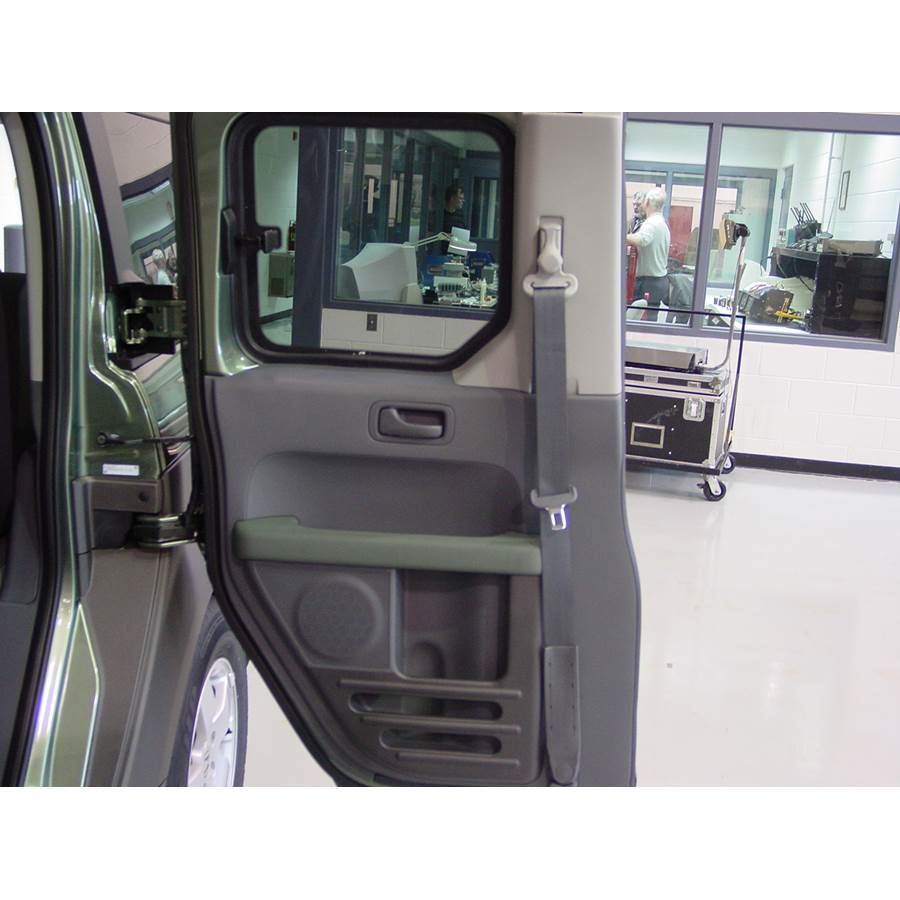 2005 Honda Element Rear door speaker location