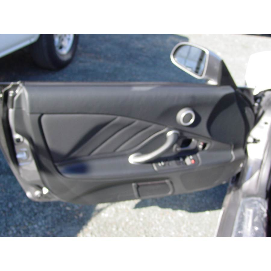 2003 Honda S2000 Front door speaker location