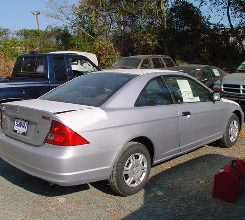 2001 Honda Civic DX Exterior
