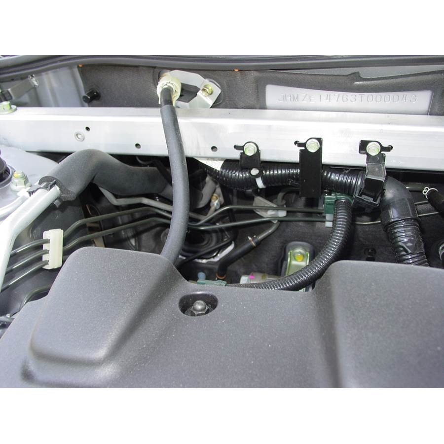 2002 Honda Insight Firewall access