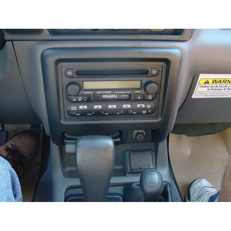 2003 Isuzu Rodeo Sport Factory Radio