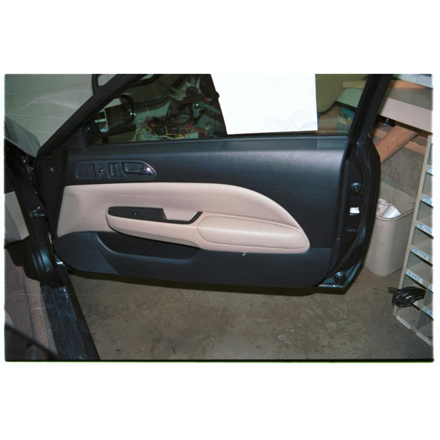 2001 Honda Prelude Front door speaker location