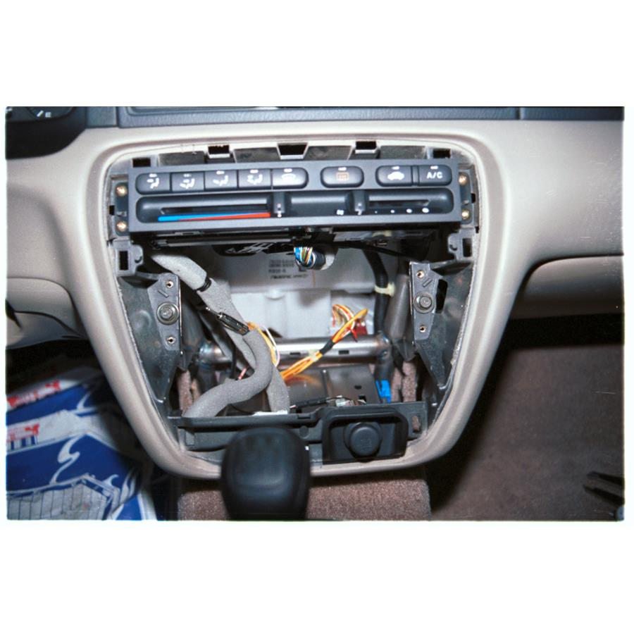 2001 Honda Prelude Factory radio removed