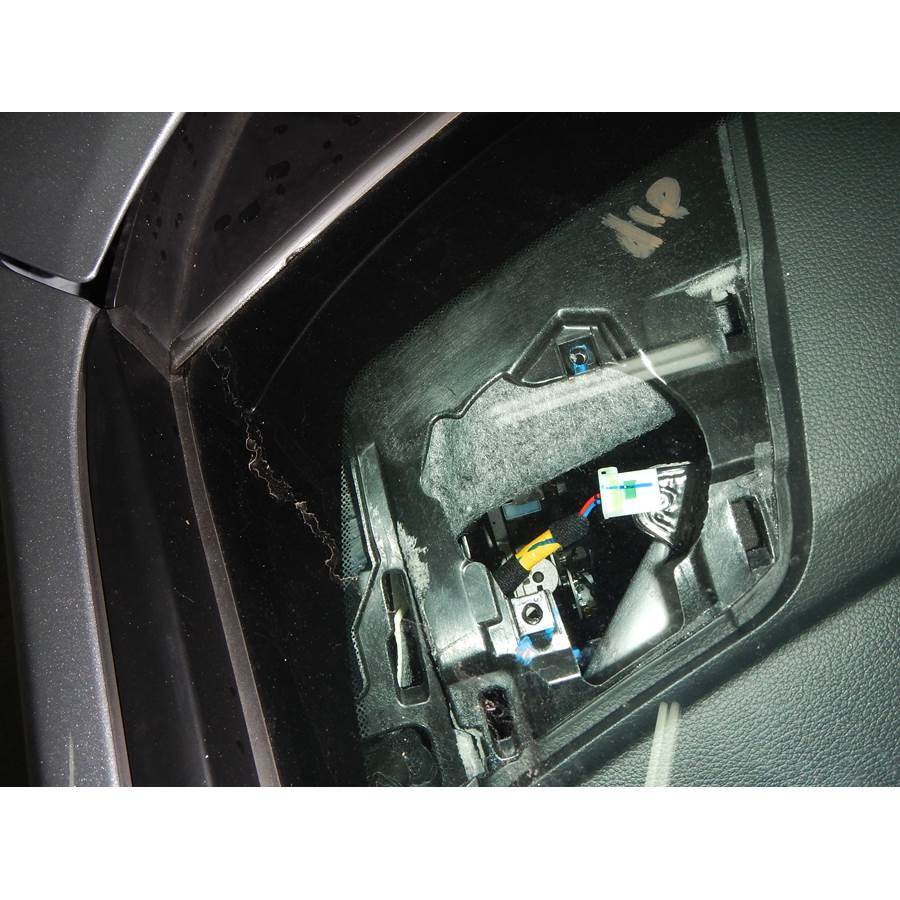 2015 Hyundai Sonata ECO Dash speaker removed