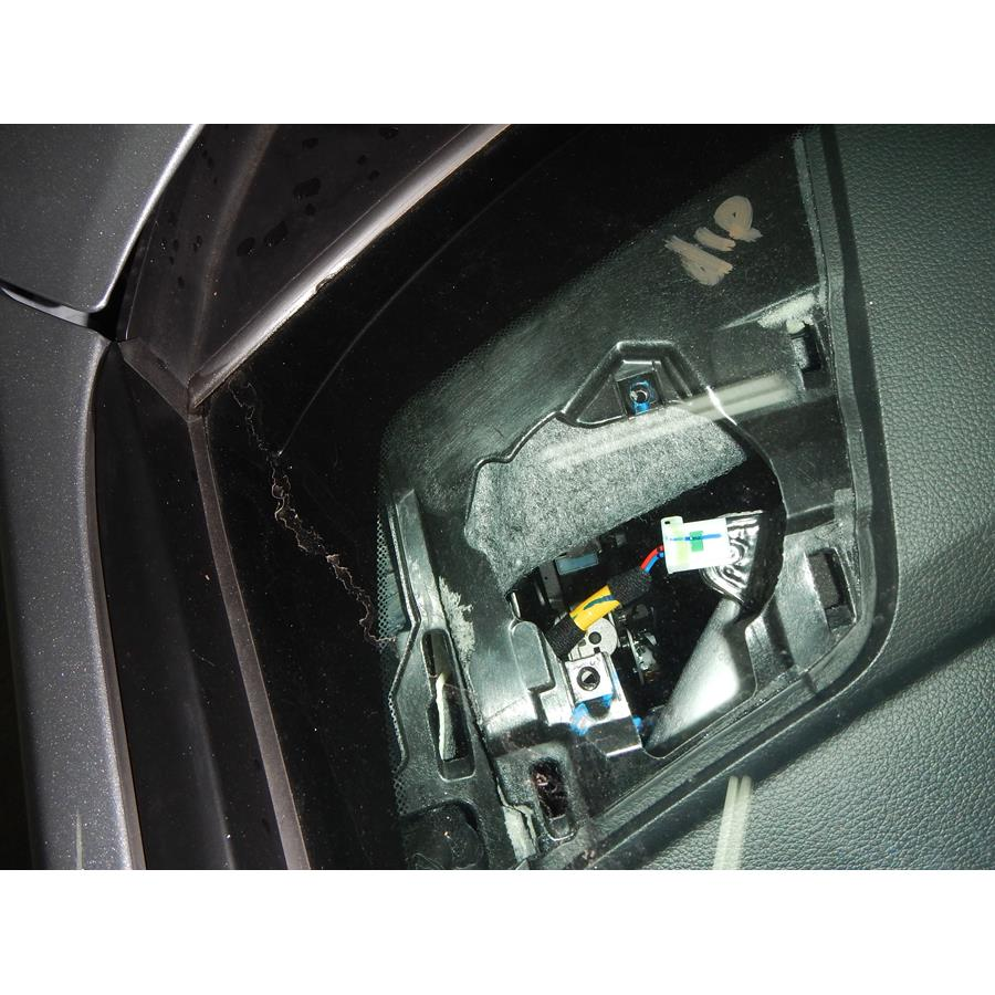 2017 Hyundai Sonata Hybrid Dash speaker removed