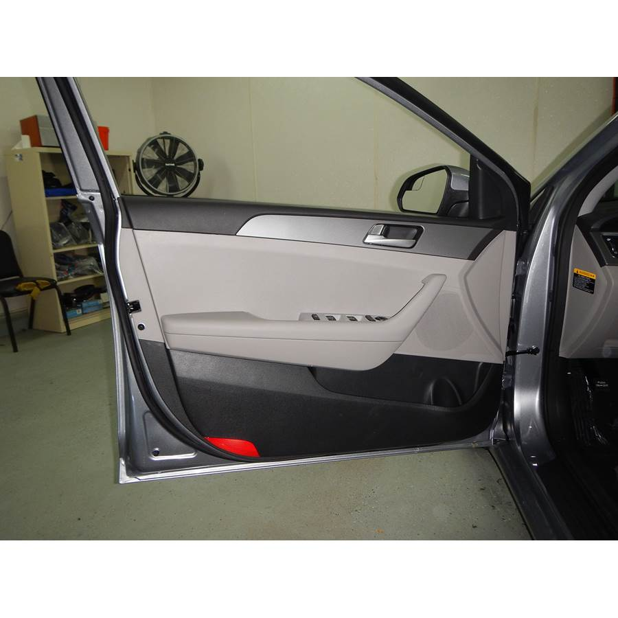 2015 Hyundai Sonata ECO Front door speaker location