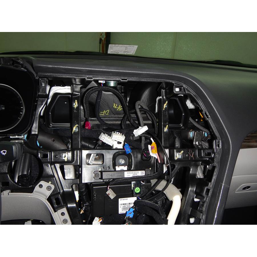 2015 Hyundai Sonata ECO Factory radio removed