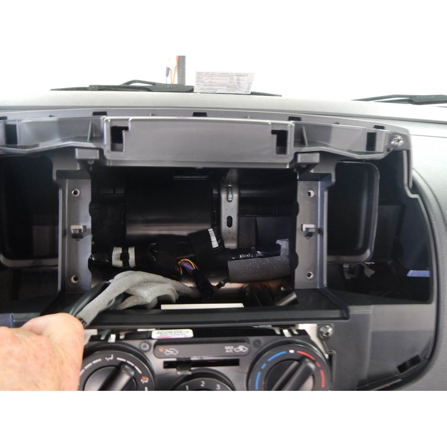 2015 Nissan NV200 Factory radio removed