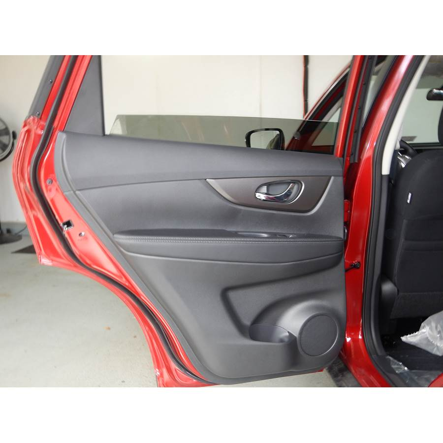 2014 Nissan Rogue Rear door speaker location