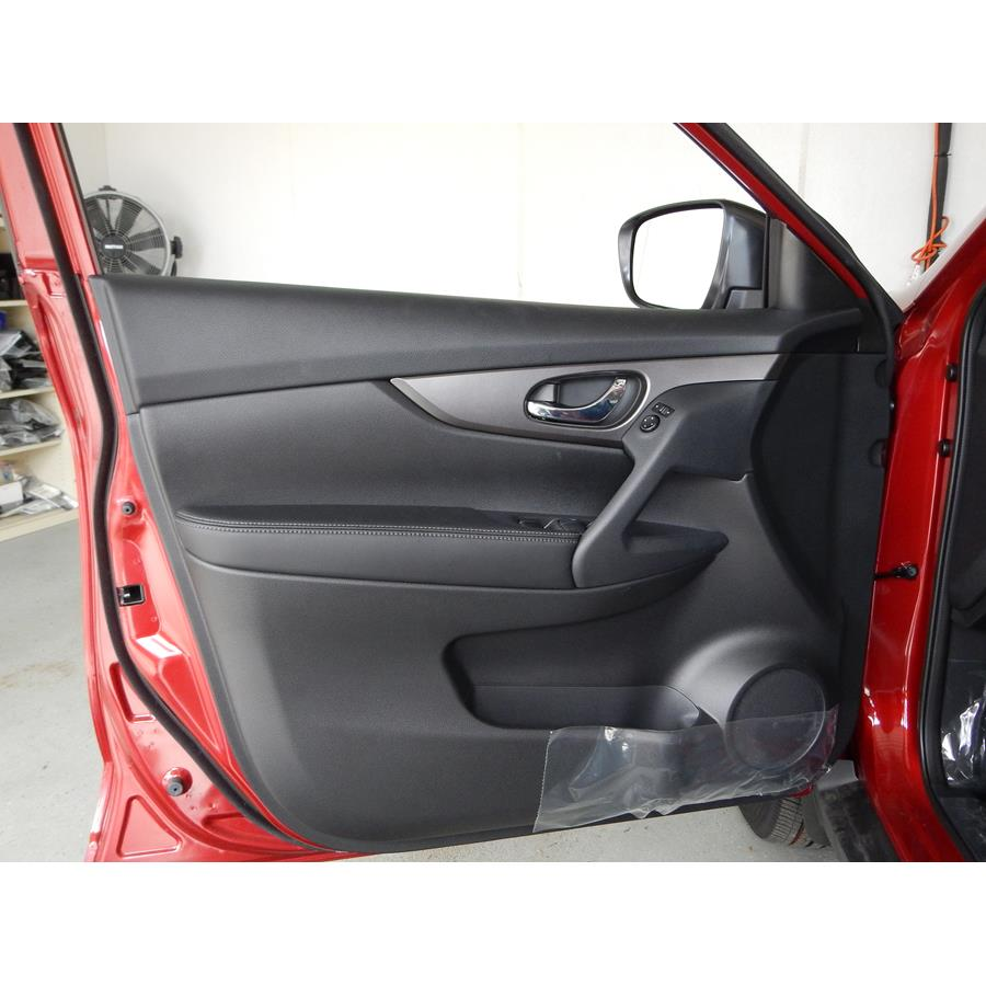 2017 Nissan Rogue Sport Front door speaker location