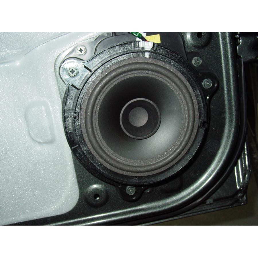 2010 Nissan Frontier LE Rear door speaker