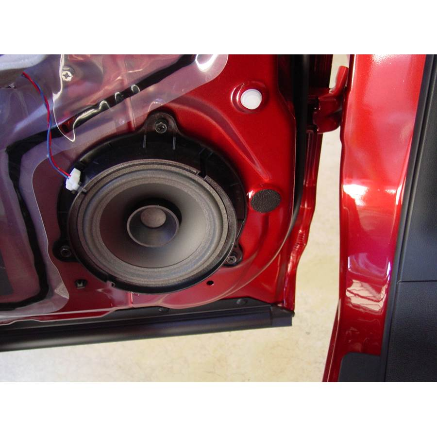 2012 Nissan Rogue S Rear door speaker