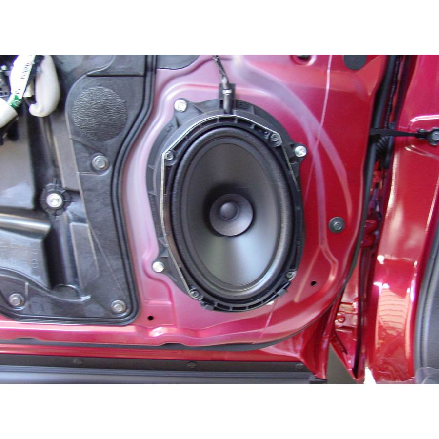 2012 Nissan Rogue S Front door speaker