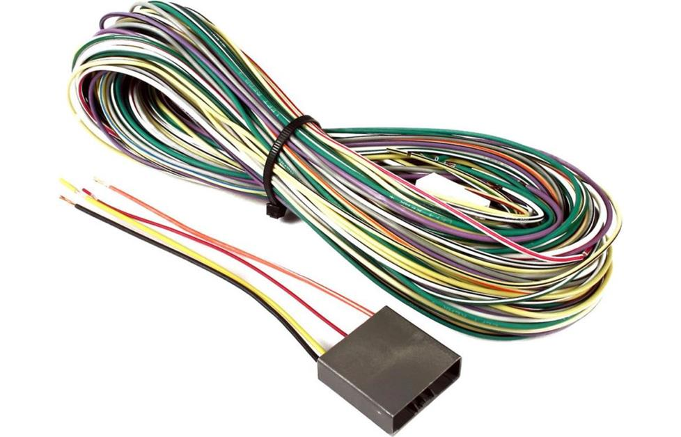 Amplifier bypass harness