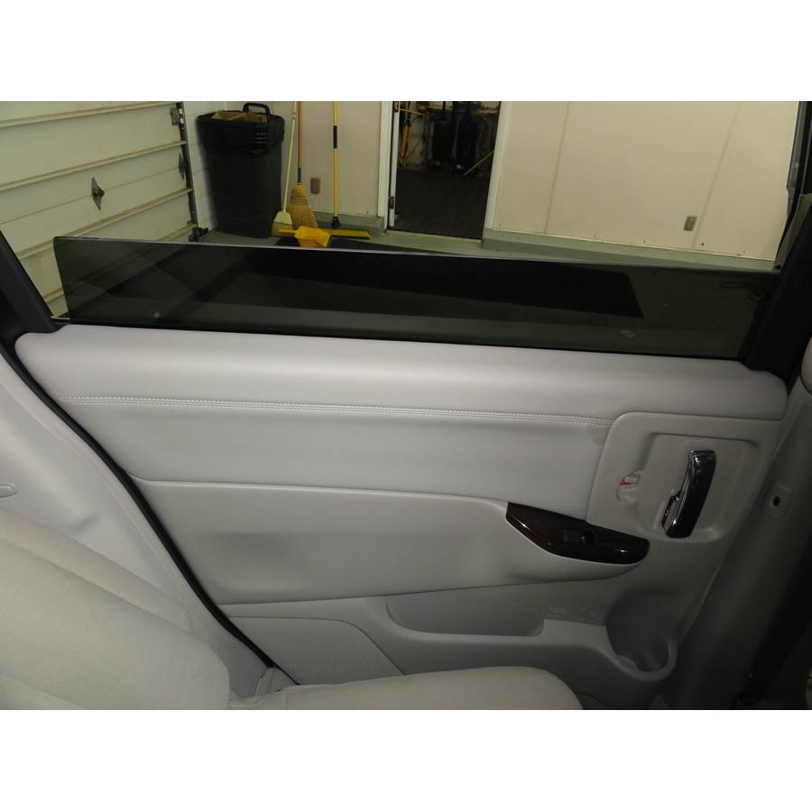 2013 Nissan Quest Rear door speaker location