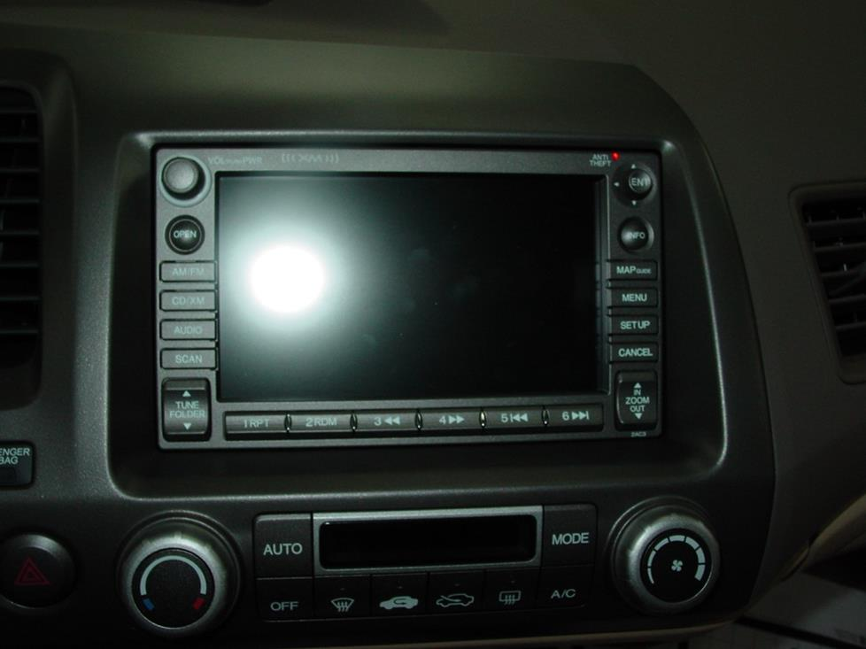 Honda navigation system (Crutchfield Research Photo)